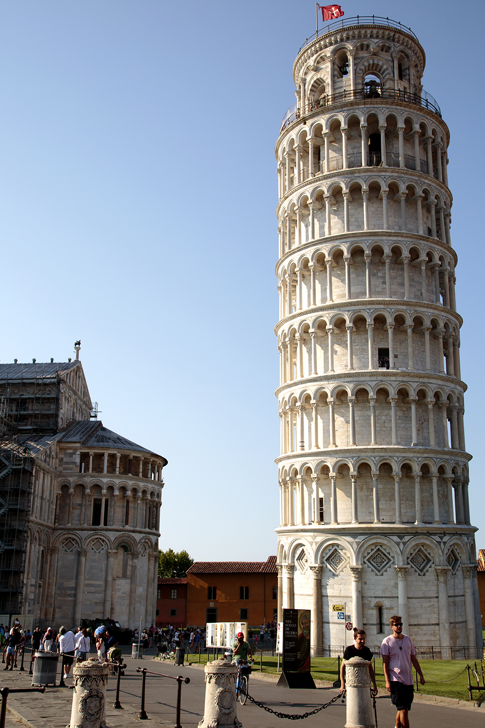A Leaning Tower And A Pisa Pizza - Image 1