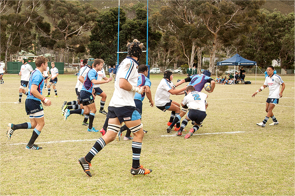 Inter-School Sports Day Worcester Gymnasium vs Hermanus High School - Image 16