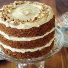 Nutty Carrot Cake