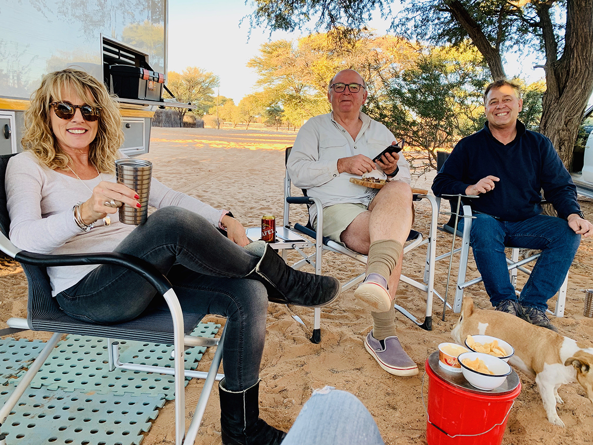 The Fab Four Conquer The Kalahari - En Route to Mabuasahube - Image 24