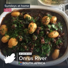 Comfort food for Father's Day! No braaiing for Dad. Slow food - oxtail