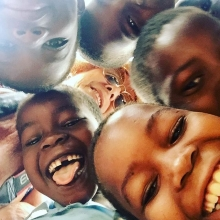 My happy place! Children just laughing and having fun looking down at the world 🌎#tofo #praiadetofo  #mozambique #happy