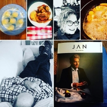 Saturdays are for fun things, eating, friending, reading, snoozing, walks and talks. Found JAN at last!