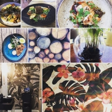 I was treated to a peak at the new Rueben's Restaurant and Bar, we bowled over and decided to stay and have lunch in the garden. A culinary journey (even the lavatories we're photogenic, but then my friend and decorator had a hand in it of course!). A