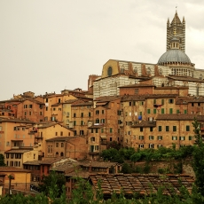 Suffusing My Senses In Siena