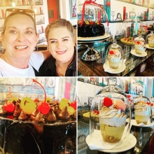 Tea for two at Burgundy! Such a delight to reconnect with one of my oldest friends 👭