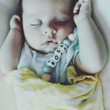 Ouma's perfection - sounds like the name if a Rose. She is.. Isla two months old.