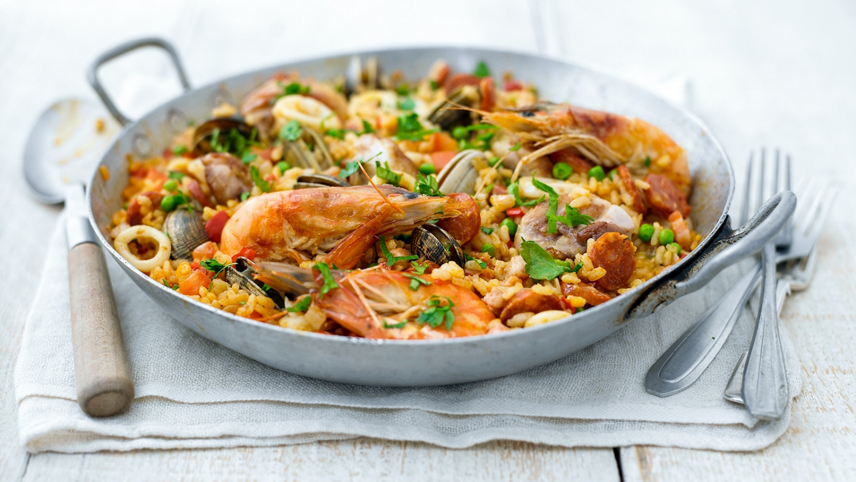 Authentic Seafood Paella Recipe